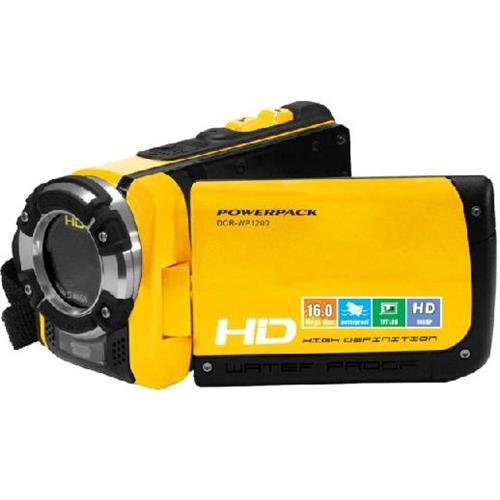 Filmadora Full HD 1080p à prova d ´ água, LCD 3.0, Zoom Digital 4x, Saída HDMI, Iluminação LED, DCR - WP1200 - POWERPACK