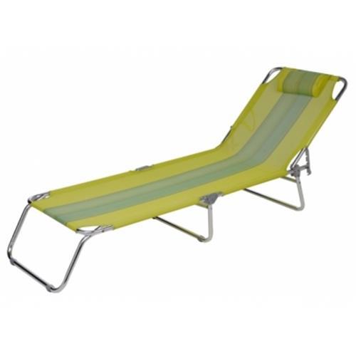 Cadeira Espreguiçadeira Mor Alumínio Verde Água