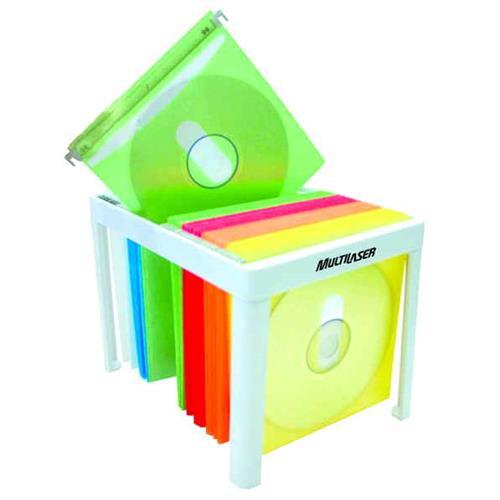 Arquivo Para 60 Cd - Multilaser Envelope Colorido
