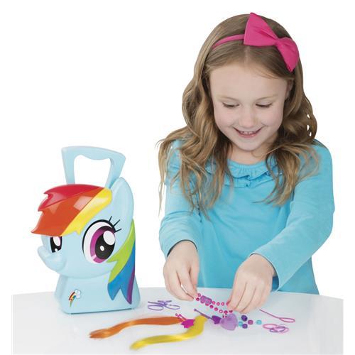 Maleta de Acessórios Estilista - My Little Pony - Rainbow Dash - Multikids