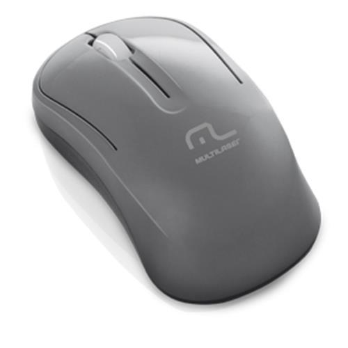 Mouse Sem Fio 2.4Ghz Grafite Usb - Multilaser MO174