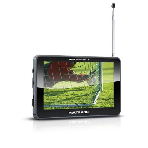 GPS Multilaser 5.0 Polegadas Touchscreen c / TV digital + FM - GP036