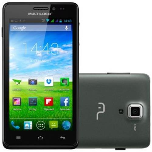 Celular Smartphone 4.5`Quad Core - Multilaser NB207